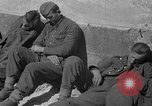 Image of German prisoners guarded by US MPs during World War II Periers France, 1944, second 36 stock footage video 65675072547
