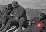 Image of German prisoners guarded by US MPs during World War II Periers France, 1944, second 39 stock footage video 65675072547