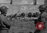 Image of German prisoners guarded by US MPs during World War II Periers France, 1944, second 42 stock footage video 65675072547