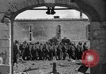 Image of German prisoners guarded by US MPs during World War II Periers France, 1944, second 52 stock footage video 65675072547