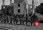 Image of German prisoners guarded by US MPs during World War II Periers France, 1944, second 54 stock footage video 65675072547