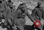 Image of German prisoners guarded by US MPs during World War II Periers France, 1944, second 60 stock footage video 65675072547