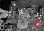 Image of cut glass making United States USA, 1919, second 2 stock footage video 65675072549