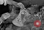 Image of cut glass making United States USA, 1919, second 8 stock footage video 65675072549