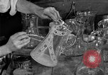 Image of cut glass making United States USA, 1919, second 9 stock footage video 65675072549