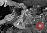 Image of cut glass making United States USA, 1919, second 10 stock footage video 65675072549