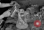 Image of cut glass making United States USA, 1919, second 14 stock footage video 65675072549