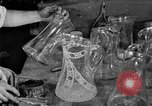 Image of cut glass making United States USA, 1919, second 15 stock footage video 65675072549
