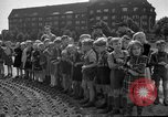 Image of Airlift Memorial Berlin Germany, 1953, second 55 stock footage video 65675072560
