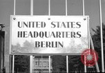 Image of Headquarters Compound Berlin Germany, 1953, second 46 stock footage video 65675072562