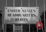 Image of Headquarters Compound Berlin Germany, 1953, second 47 stock footage video 65675072562