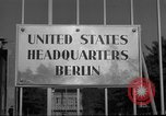 Image of Headquarters Compound Berlin Germany, 1953, second 48 stock footage video 65675072562