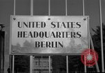Image of Headquarters Compound Berlin Germany, 1953, second 49 stock footage video 65675072562
