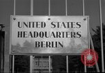 Image of Headquarters Compound Berlin Germany, 1953, second 51 stock footage video 65675072562