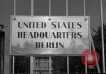 Image of Headquarters Compound Berlin Germany, 1953, second 53 stock footage video 65675072562