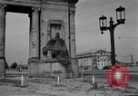 Image of damaged statue of Friedrich I Berlin Germany, 1953, second 16 stock footage video 65675072565