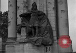 Image of damaged statue of Friedrich I Berlin Germany, 1953, second 23 stock footage video 65675072565