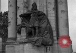 Image of damaged statue of Friedrich I Berlin Germany, 1953, second 26 stock footage video 65675072565