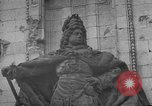 Image of damaged statue of Friedrich I Berlin Germany, 1953, second 31 stock footage video 65675072565
