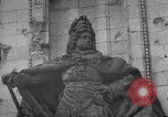 Image of damaged statue of Friedrich I Berlin Germany, 1953, second 32 stock footage video 65675072565