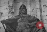 Image of damaged statue of Friedrich I Berlin Germany, 1953, second 33 stock footage video 65675072565