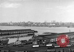 Image of New York City skyline from New Jersey New York City USA, 1954, second 12 stock footage video 65675072571