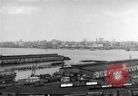 Image of New York City skyline from New Jersey New York City USA, 1954, second 13 stock footage video 65675072571