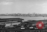 Image of New York City skyline from New Jersey New York City USA, 1954, second 19 stock footage video 65675072571
