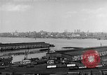 Image of New York City skyline from New Jersey New York City USA, 1954, second 20 stock footage video 65675072571