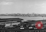 Image of New York City skyline from New Jersey New York City USA, 1954, second 21 stock footage video 65675072571