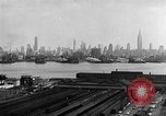 Image of buildings at port New York United States USA, 1954, second 26 stock footage video 65675072572