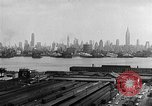 Image of buildings at port New York United States USA, 1954, second 45 stock footage video 65675072572