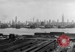 Image of buildings at port New York United States USA, 1954, second 48 stock footage video 65675072572
