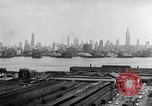 Image of buildings at port New York United States USA, 1954, second 53 stock footage video 65675072572