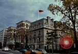 Image of Soviet embassy building Washington DC USA, 1966, second 42 stock footage video 65675072581