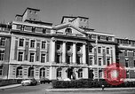 Image of campus building New York United States USA, 1962, second 7 stock footage video 65675072592