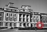 Image of campus building New York United States USA, 1962, second 9 stock footage video 65675072592