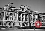 Image of campus building New York United States USA, 1962, second 15 stock footage video 65675072592