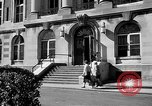 Image of campus building New York United States USA, 1962, second 37 stock footage video 65675072592