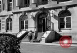Image of campus building New York United States USA, 1962, second 40 stock footage video 65675072592