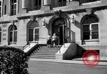 Image of campus building New York United States USA, 1962, second 47 stock footage video 65675072592