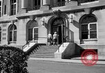 Image of campus building New York United States USA, 1962, second 48 stock footage video 65675072592