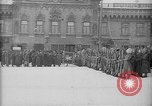Image of Russian troops decorated World War I Yekaterinburg Russia, 1918, second 41 stock footage video 65675072595