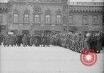 Image of Russian troops decorated World War I Yekaterinburg Russia, 1918, second 47 stock footage video 65675072595