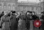 Image of Russian troops decorated World War I Yekaterinburg Russia, 1918, second 56 stock footage video 65675072595