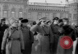 Image of Russian troops decorated World War I Yekaterinburg Russia, 1918, second 57 stock footage video 65675072595