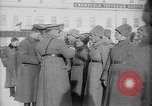 Image of Russian troops decorated World War I Yekaterinburg Russia, 1918, second 61 stock footage video 65675072595