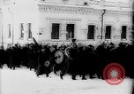 Image of outdoor church service Siberia, 1918, second 7 stock footage video 65675072599