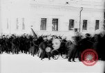 Image of outdoor church service Siberia, 1918, second 8 stock footage video 65675072599