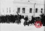 Image of outdoor church service Siberia, 1918, second 9 stock footage video 65675072599
